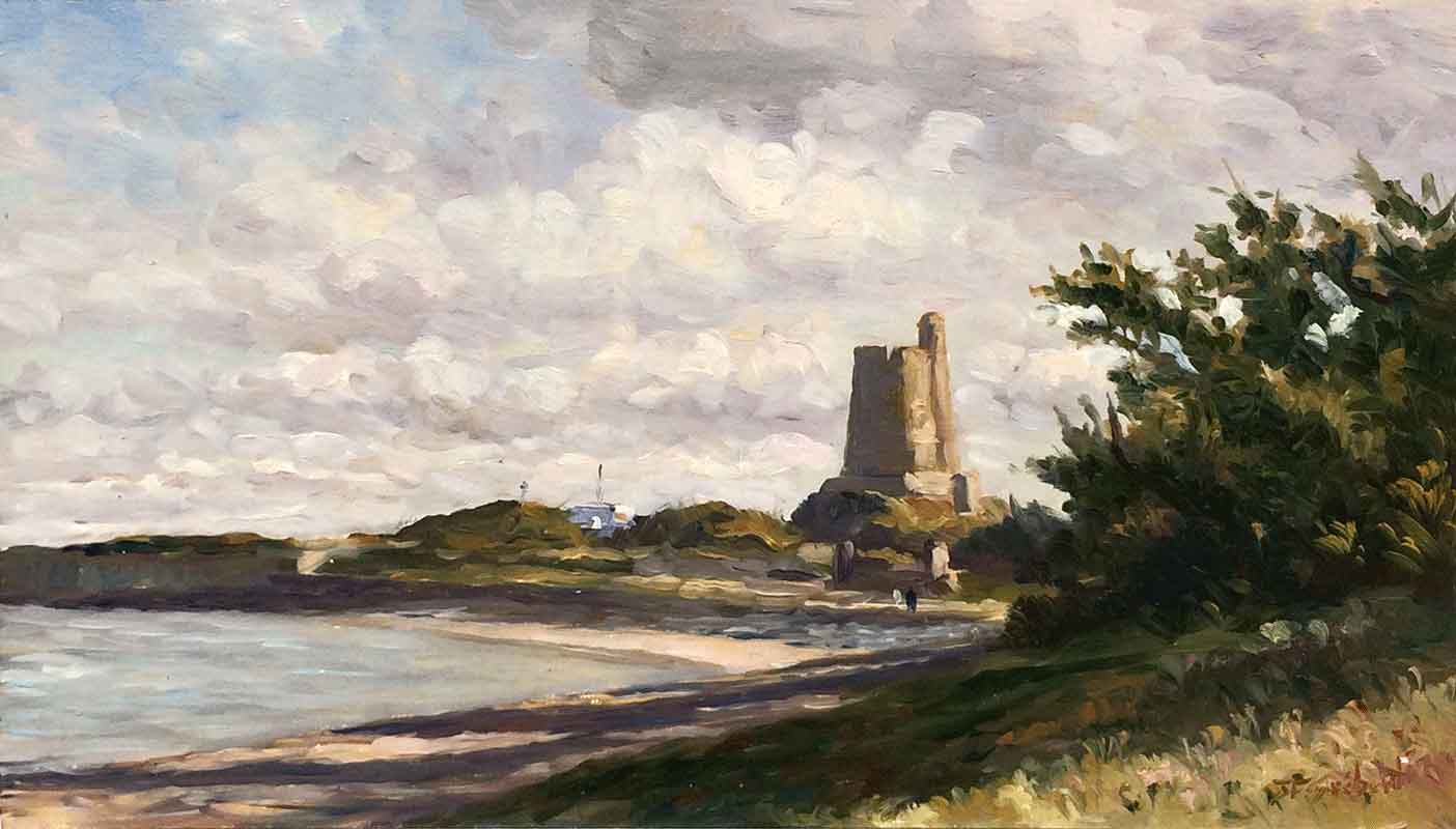 Promenade au Fort de la Hougue