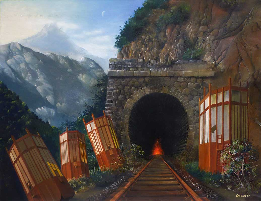 Tunnel en feu